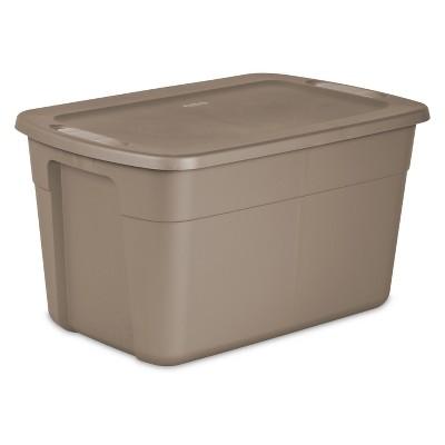 Sterilite® Storage Bin Tan 30gal