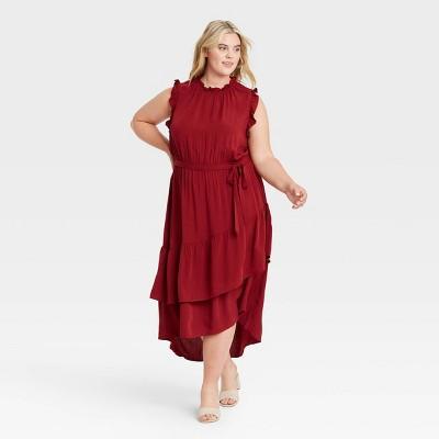 Women's Sleeveless Ruffle Dress - Who What Wear™