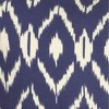"""18""""x18"""" Ikat Square Throw Pillow Cover Blue - Rizzy Home - image 2 of 4"""