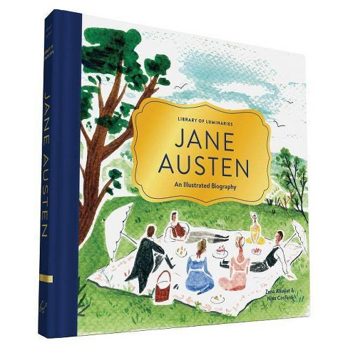 Library of Luminaries: Jane Austen - by  Zena Alkayat (Hardcover) - image 1 of 1