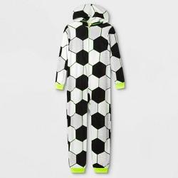 Boys' Soccer Union Suit- Cat & Jack™ White/Black