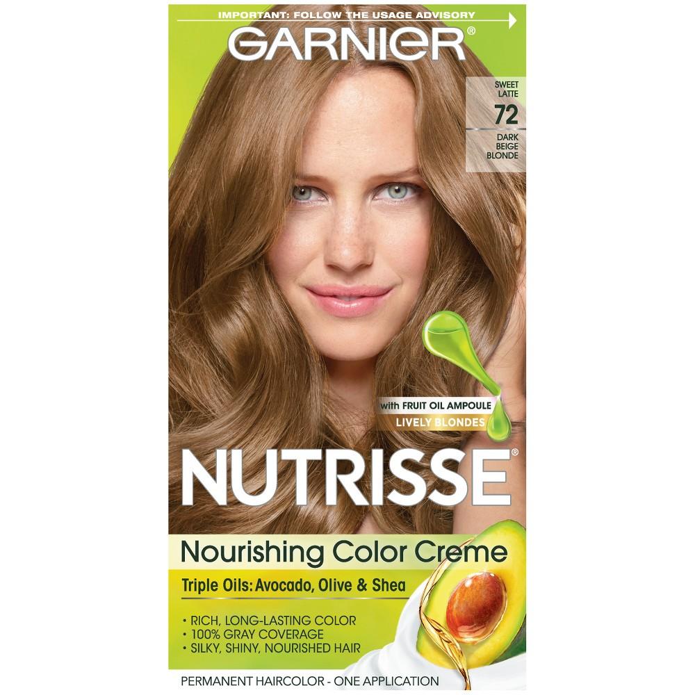 Garnier Nutrisse Nourishing Color Creme 72 Dark Beige Blonde