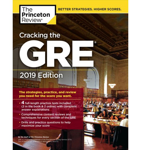 Princeton Review Cracking The Gre 2019 The Strategies Practice
