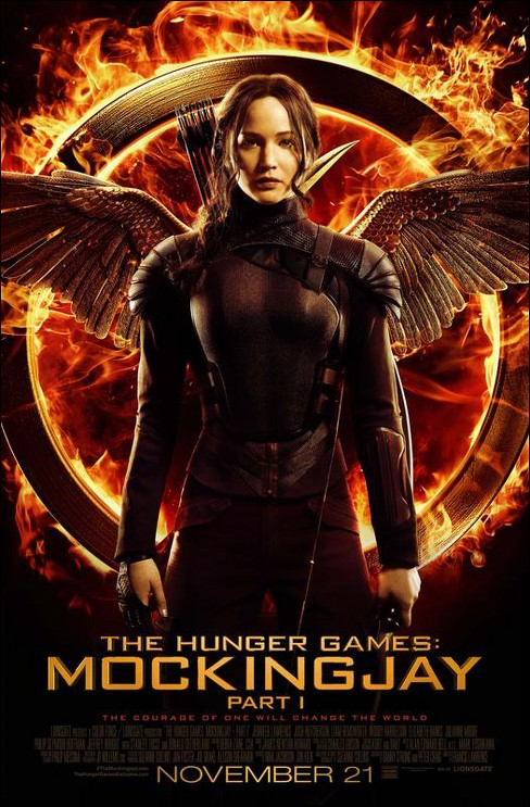 The Hunger Games: Mockingjay, Part 1 (2 Discs) (Include Digital Copy) (Ultraviolet) (Blu-ray/DVD) - image 1 of 1