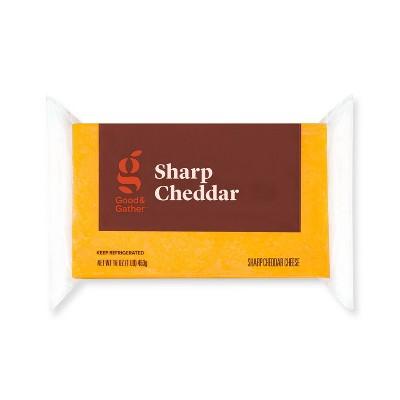Sharp Cheddar Cheese - 16oz - Good & Gather™