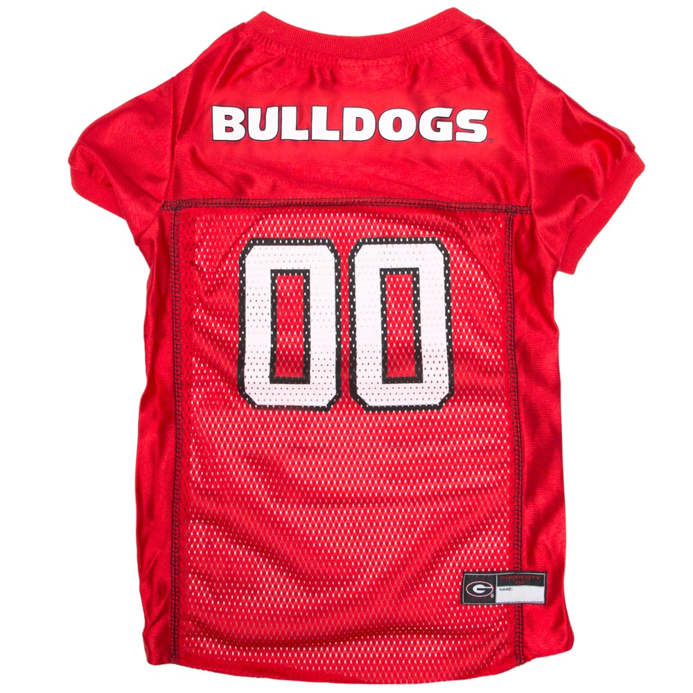 Pets First Georgia Bulldogs Mesh Jersey - L, Multicolored