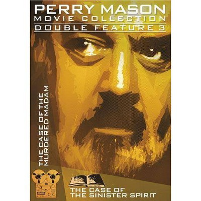 Perry Mason Double Feature: Case of Sinister Spirit / Case of Murdered Madam (DVD)(2014)