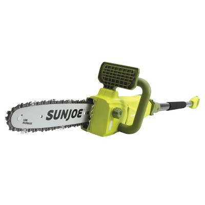 Sun Joe SWJ807E Electric Convertible Pole Chain Saw | 10 inch | 8.0 Amp.