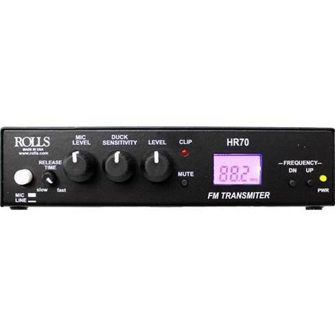Rolls HR70 FM Digital Transmitter - image 1 of 2