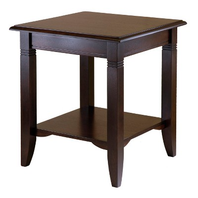 Nolan End Table Cappuccino - Winsome