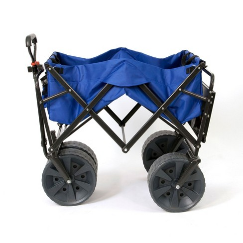 Mac Sports Collapsible Heavy Duty All Terrain Beach Utility Wagon With Table Target