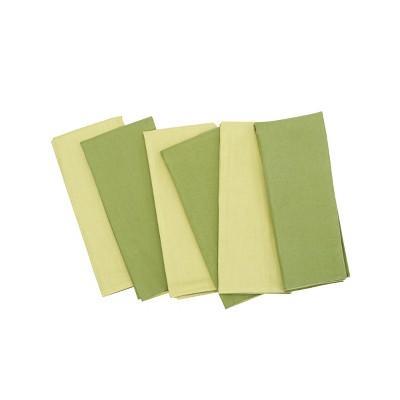 C&F Home Grass Cotton Reversible Napkin Set of 6