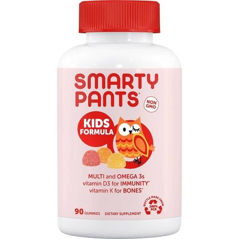 SmartyPants Kids Formula Multivitamin Gummies - Lemon, Orange & Strawberry Banana - 90ct - image 1 of 4