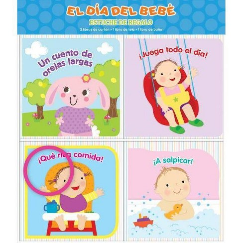 El D�a del Beb� - (Estuche de Regalo) by  Kidsbooks (Board_book) - image 1 of 1