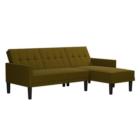 Hadley Small Space Sectional Sofa Futon - Room & Joy - image 1 of 4