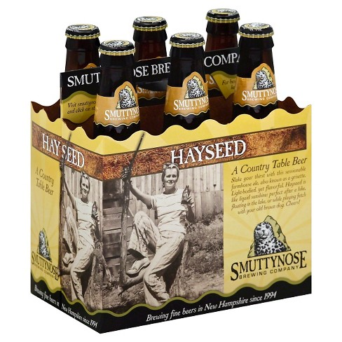 Smuttynose® Hayseed Farmhouse Ale - 6pk / 12oz Bottles - image 1 of 2