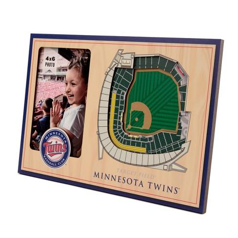 "MLB Minnesota Twins Stadium View Photo Frame - 4"" x 6"" - image 1 of 3"