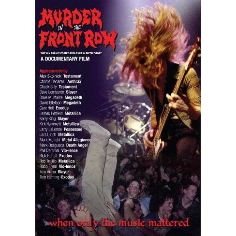 Murder In The Front Row: San Francisco Thrash Metal Story (DVD) - image 1 of 1