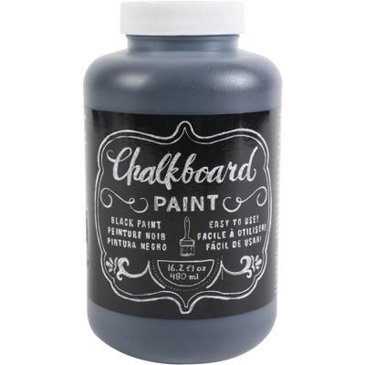 DIY Shop Chalkboard Paint 16.2oz-Black