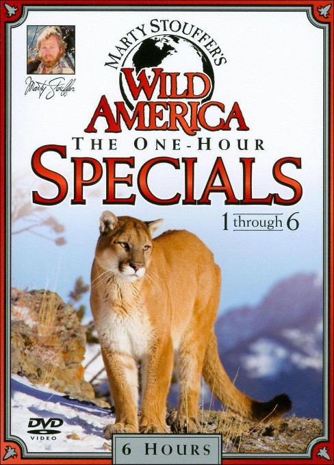 Marty Stouffer's Wild America: Specials 1-6 [3 Discs] - image 1 of 1