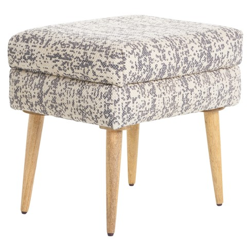 Loucinda Dotted Ottoman - Christopher Knight Home - image 1 of 4