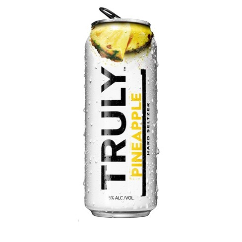 Truly Hard Seltzer Pineapple - 24 fl oz Can - image 1 of 3