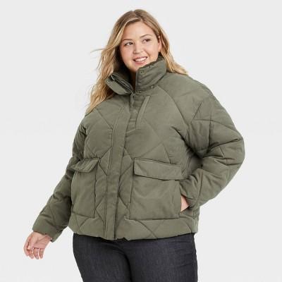 Women's Utility Puffer Jacket - Universal Thread™