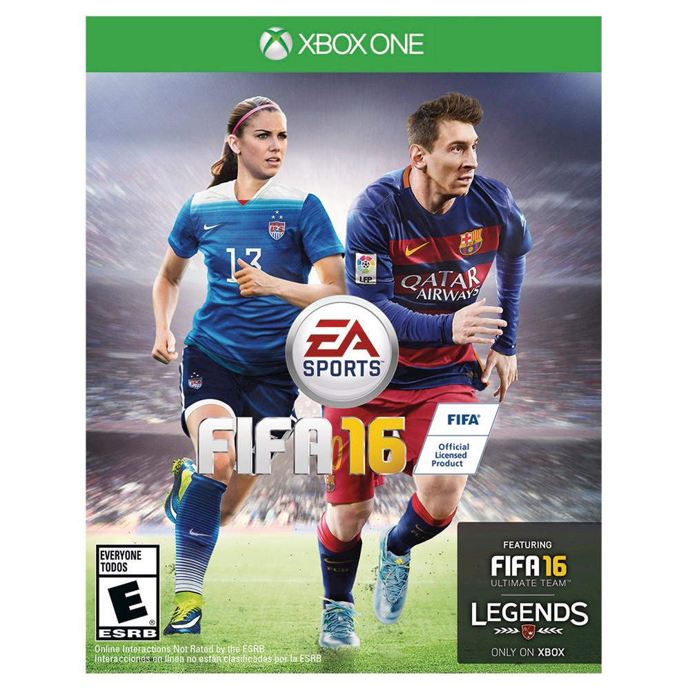 FIFA 16 PRE-OWNED Xbox One Be a renowned soccer player in the amazing FIFA 16 PRE-OWNED (Xbox One). The game works for Nintendo Xbox One consoles. Play the game in the world of FIFA, real life soccer's most renowned club. The pre-owned video game is suitable for all ages.