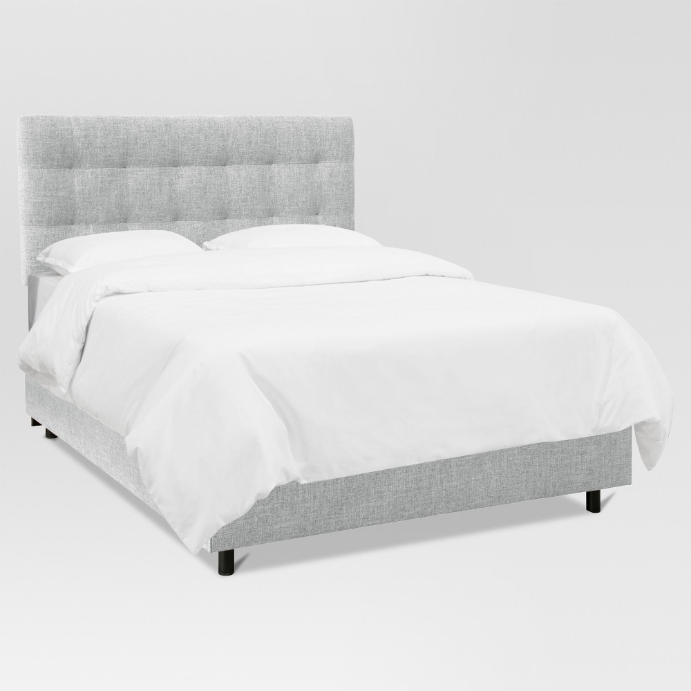Siegel King Pull Tufted Bed Zuma Pumice - Project 62