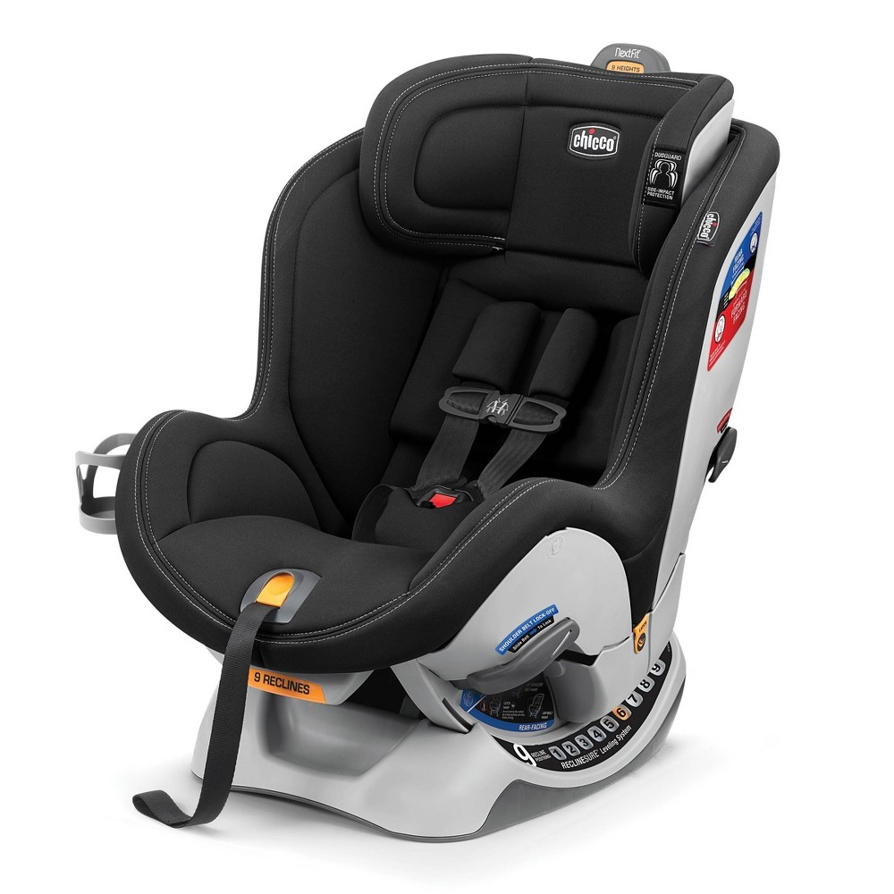 Image of Chicco NextFit Sport Convertible Car Seat - Black