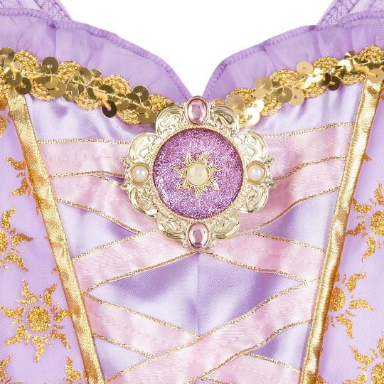 Girl's Rapunzel Costume - 4T - Disney store, Women's, Purple image number null