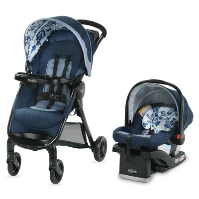 Graco FastAction SE Travel System - Tessa