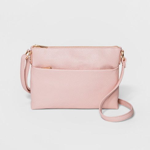 Zip Closure Crossbody Bag - A New Day™ - image 1 of 3
