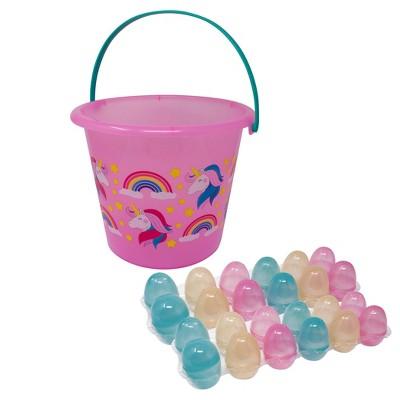 Jumbo Color Changing Easter Bucket Kit Pink and Purple