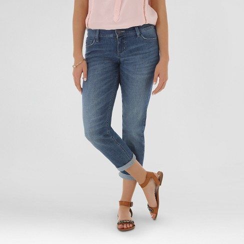 Women's Englewood Boyfriend Crop Oasis - Crafted by Lee - image 1 of 5