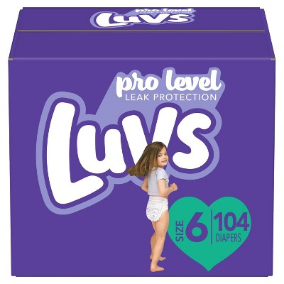 Luvs Disposable Diapers - (Select Size and Count)