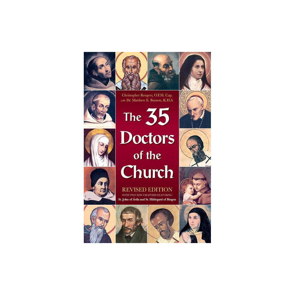 The 35 Doctors Of The Church By Matthew Bunson Paperback