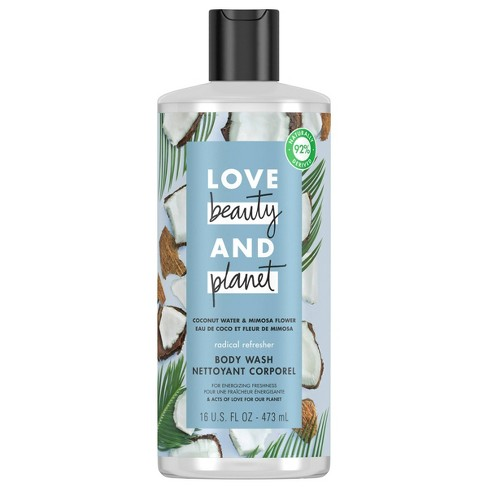 Love Beauty & Planet Coconut Water & Mimosa Refreshing Body Wash Soap - 16 fl oz - image 1 of 4