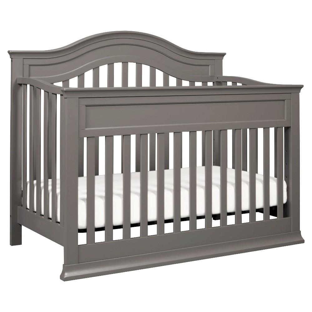 DaVinci Brook 4-in-1 Convertible Crib with Toddler Rail - Slate (Grey)