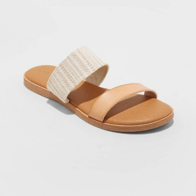 Women's Torri Two Band Slide Sandals - Universal Thread™