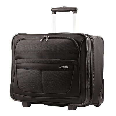 American Tourister Delite 8  3-Wheeled Carry On Suitcase
