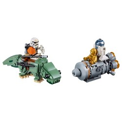 LEGO Star Wars C-3PO Escape Pod vs. Dewback Microfighters 75228