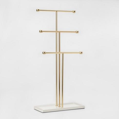 Trigem Jewelry Storage Stand Brass - Umbra - image 1 of 4
