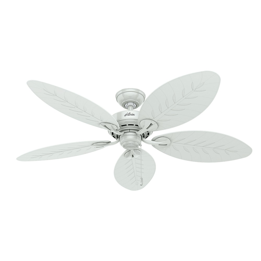 "Image of ""42"""" Bayview Outdoor Ceiling Fan White - Hunter Fan"""