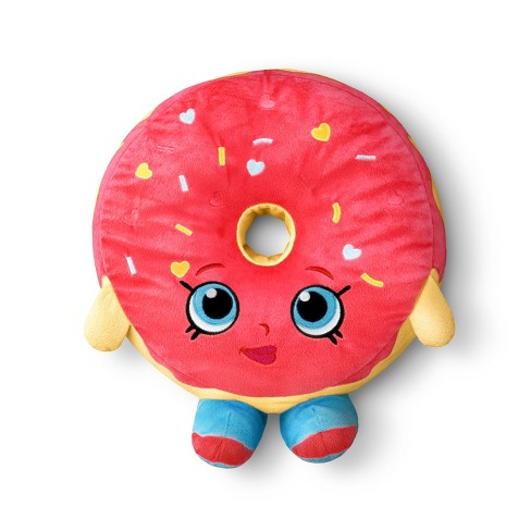 "Shopkins® Pink Donut Pillow Buddy Throw Pillow (14""x14"") - image 1 of 2"