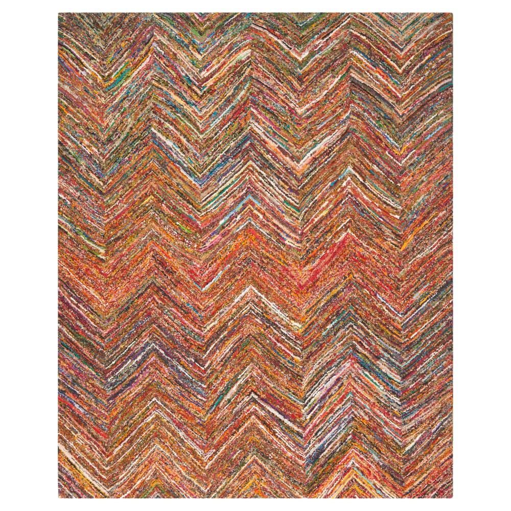 Morgan Area Rug - Orange/Multi (5'x8') - Safavieh, Orange/Multi-Colored