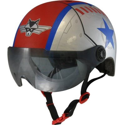 Raskullz Flying Ace Child Helmet with Shield