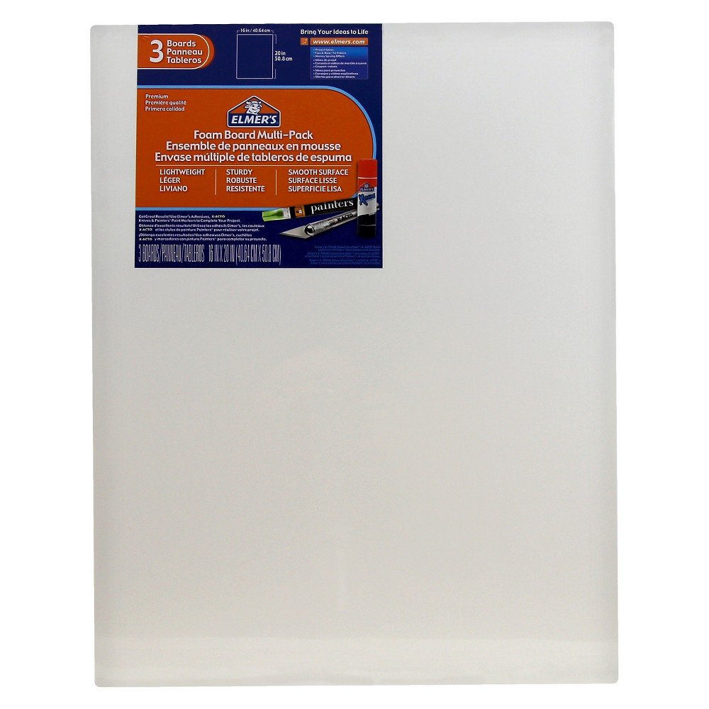"Image of ""Elmer's 20"""" x 16"""" Presentation Board White"""