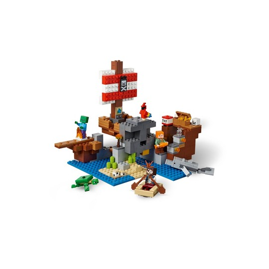 LEGO Minecraft The Pirate Ship Adventure Alex 21152 image number null