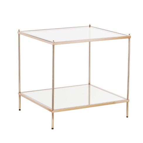 Benton End Table Warm Gold - Aiden Lane - image 1 of 3